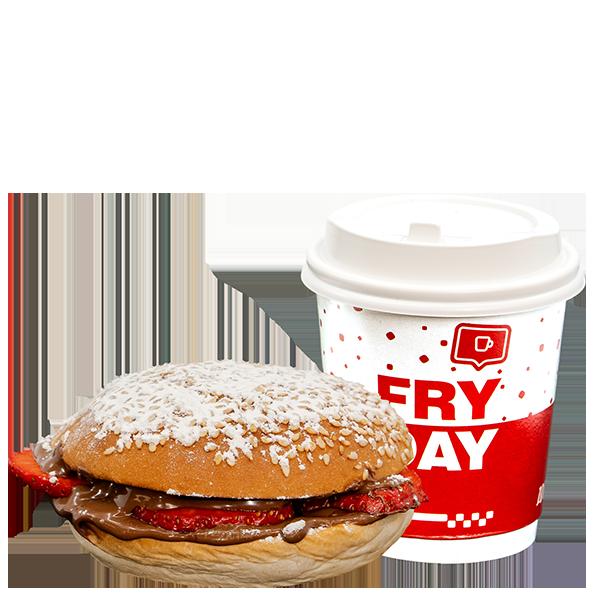 Mini Dejun Nutella Burger