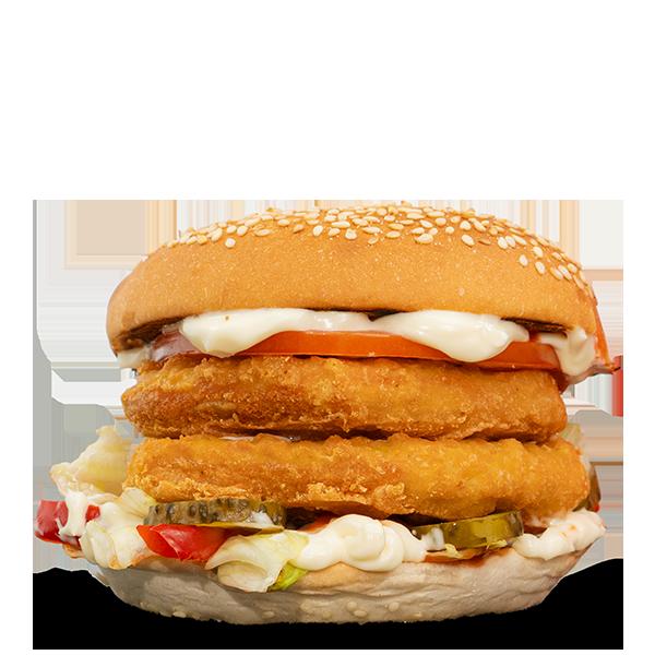 Dublu Pui Burger