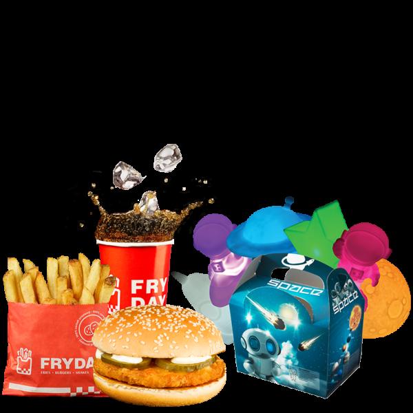 Junior Meal Pui Burger