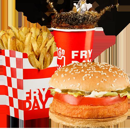 Meniu Burger Somon
